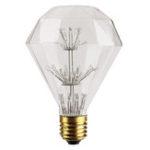 New Kingso AC85-265V E27 3W RGB Gypsophila Edison Decorative LED Light Bulb for Holiday Home Indoor Use
