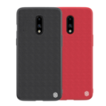 New NILLKIN Shockproof Anti-scratch Slight Nylon & Synthetic Fiber Textured Protective Case for OnePlus 7