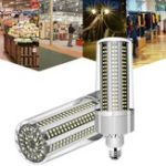 New E27 120W No Strobe Energy-saving Fan Cooling 366 LED Corn Light Bulb for Home Garden AC100-277V