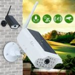 New 1000LM Solar LED Light Dummy Security Camera PIR Motion Sensor Wall Lamp