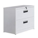 New Metal Vertical File Cabinet with Keys and Hanging File Frame for Legal and Business File Drawer Lock