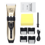 New Electric Pet Cat Dog Cordless Clipper Grooming Trimmer Kit