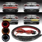 New 48 Inch DC9-24V Three Color LED Strip Light Car Tailgate Pickup Turn Signal Reverse Brake Lamp