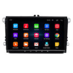 New 9 Inch for Android 8.1 Car Stereo Radio MP5 Player 1+16G Quad Core Touch Screen bluetooth DVR WIFI for VW