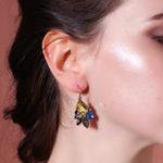 New Elegant Style Crystal Ear Drop