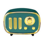 New Portable Vintage Retro AM FM Radio bluetooth Speaker TF Card USB MP3 Music Player