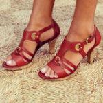 New Women  explosion models Euramerica Heeled Sandals