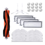 New 25PCS Xiaomi Roborock Robot Vacuum Cleaner Replacement HEPA Filter Side Brush Mop Cloth Water Tank Filter Accessories Replacement