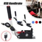 New Red/Black USB Handbrake Clamp  For SIM Racing Games G25/27/29 T500