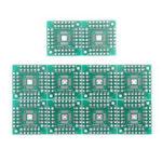 New 100pcs HTQFP QFN48 To DIP48 QFN44 QFP48 QFP44 PQFP LQFP To DIP PCB SMD Adapter Plate Pitch PCB Board
