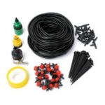 New Micro Drip Irrigation System DIY Micro Drip Garden Watering Adjustable Plant Water Hose Kits