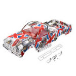 New HG P407 1/10 2.4G 4WD RC Spare Parts Camouflage Car Body Shell ASS-08