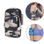 New Xiaomi PELLIOT Running Arm Bag Mini Size Large Capacity Breathable Lightweight Outdoor Fitness Running Mobile Phone Arm Pack