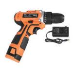New 16.8V Dual Speed Electric Drill Screwdriver 32Nm Torque 3/8″ Keyless Drill Chuck W/ 1 or 2 Li-ion Battery