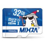 New Mixza Christmas Shark Limited Edition 32GB U1 Class 10 TF Micro Memory Card for DSLR Digital Camera TV Box MP3