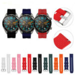New Bakeey Universal Replacement Silicone Watch Band for Huawei Watch GT 2 Pro Smart Watch