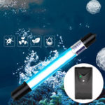 New 5W 7W 9W 11W Submersible Aquarium Fish Tank Light UV Sterilizer Water Germicidal Timer
