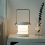 New Bakeey Led USB Charging Foldable Lantern Light Flashlight Bedroom Bedside Reading Night Light Retractable Table Lamp