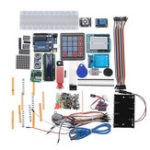 New Geekcreit® Starter Kits For Arduino Uno R3 – Uno R3 Breadboard And Holder Step Motor / Servo /1602 LCD / Jumper Wire/ UNO R3