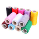 New 400M Spools 12 Colors Cotton Sewing Machine Thread Reel Cord String Tools