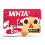 New Mixza Year of the Rooster Limited Edition U1 8GB TF Micro Memory Card