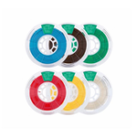 New 1KG/Roll 1.75mm White/Black/Gray/Green/Orange/Sky Blue/Dark Brown PLA Filament for 3D Printer