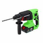 New 220V 168VF 18800mAh Electric Brushless SDS Hammer Cordless Impact Drill with Rechargeable Battery