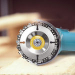 New Drillpro 2pcs 4 Inch Grinder Chain Disc 22 Tooth Wood Carving Disc For 100/115 Angle Grinder