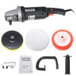New 1400W Electric 8 Variable Speed Car Polisher Buffer Waxer Sander Detail Polishing Machine