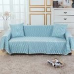 New Sofa Cover Couch Slipcover Cotton Blend 1-4 Seater Pet Dog Sofa Covers Chair Protector