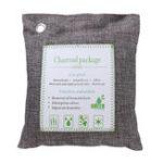 New 2Pcs Natural Bamboo Charcoal Air Purifier Bag With Hook