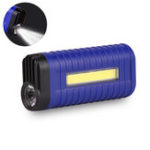 New XANES® 1W COB LED Flashlight 2 Modes USB Charging 18650 Battery Work Lamp Camping Hunting Portable Torch Light