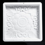 New 40x40CM Home DIY Garden Path Maker Road Paving Cement Stone Mold Mould Brick Decorations