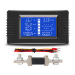 New PZEM-015 Battery Tester DC Voltage Current Power Capacity Internal And External Resistance Residual Electricity Meter With 200A Shunt