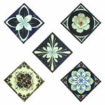 New 10Pcs/set Noctilucent Floor Tile Diagonal Sticker Self Adhesive Decals Wall Decor Waterproof PVC
