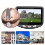 New 4.3 Inch LCD TF Card Smart  Peephole Viewer Door Eye Night Vision Camera DoorBell