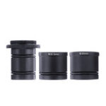 New C Mount Adapter 23.2mm 30mm 30.5mm Microscope Eyepiece Lens for CCD Camera