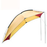 New 2.4mx1.9mx2m Car Reat Tent Outdoor Camping Waterproof Shade Car Side Awning Extension Roof Rack Tent Sunshade