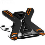 New ICE COOREL E5 Laptop Cooler Notebook Cooling Pad 8 Gear Regulation 360 Degrees Rotation Stand Lift Bracket foldable Phone Bracket Stand for 12-17 inch Laptops