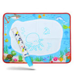 New Water Drawing Painting Writing Cloth Mat Board Magic Pen Doodle Kids Baby Toy