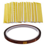 New 15Pcs Heating Insulation Cotton + 1Pcs High Temperature Polyimide Film Heat Resistant Tape for 3D Printer High Temperature Protect