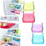 New Fridge Space Saver Organizer Slide Under Shelf Rack Home Holder Storage Kitchen