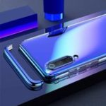 New Bakeey Detachable 2 in 1 Shockproof Plating Transparent Hard PC Protective Case for Xiaomi Mi9 / Mi 9 Transparent Edition