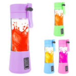 New Portable Electric Juice Cup USB Electric Fruit Juicer Handheld Smoothie Maker Juice Cup USB Blender Charging Cable