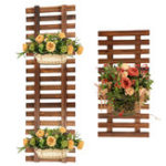 New Plant Flower Hanger Holder Hanging Basket Pot Wood Climbing Rack Craft Ladder