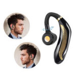 New Wireless bluetooth 5.0 Earphone Stereo Noise Cancelling Waterproof Handsfree Headset Headphone With HD Mic