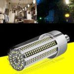 New AC100-277V E27 100W No Strobe Fan Cooling Camping Home Garden 366 LED Corn Light Bulb