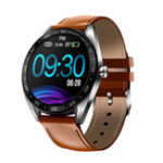 New Bakeey K7 Full Touch Color Screen Smart Watch Multi Function Business Style HR and Blood Pressure Monitor Wristband