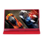 New T-Bao T15A 15.6 Inch Portable Gaming Computer Monitor Expantion LED Screen USB C Display For Tablet Laptop Red