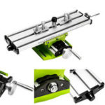 New 2 Axis Milling Compound Working Table Cross Sliding Bench Drill Vises Fixture DIY